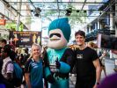 Brisbane heat participants and mascot