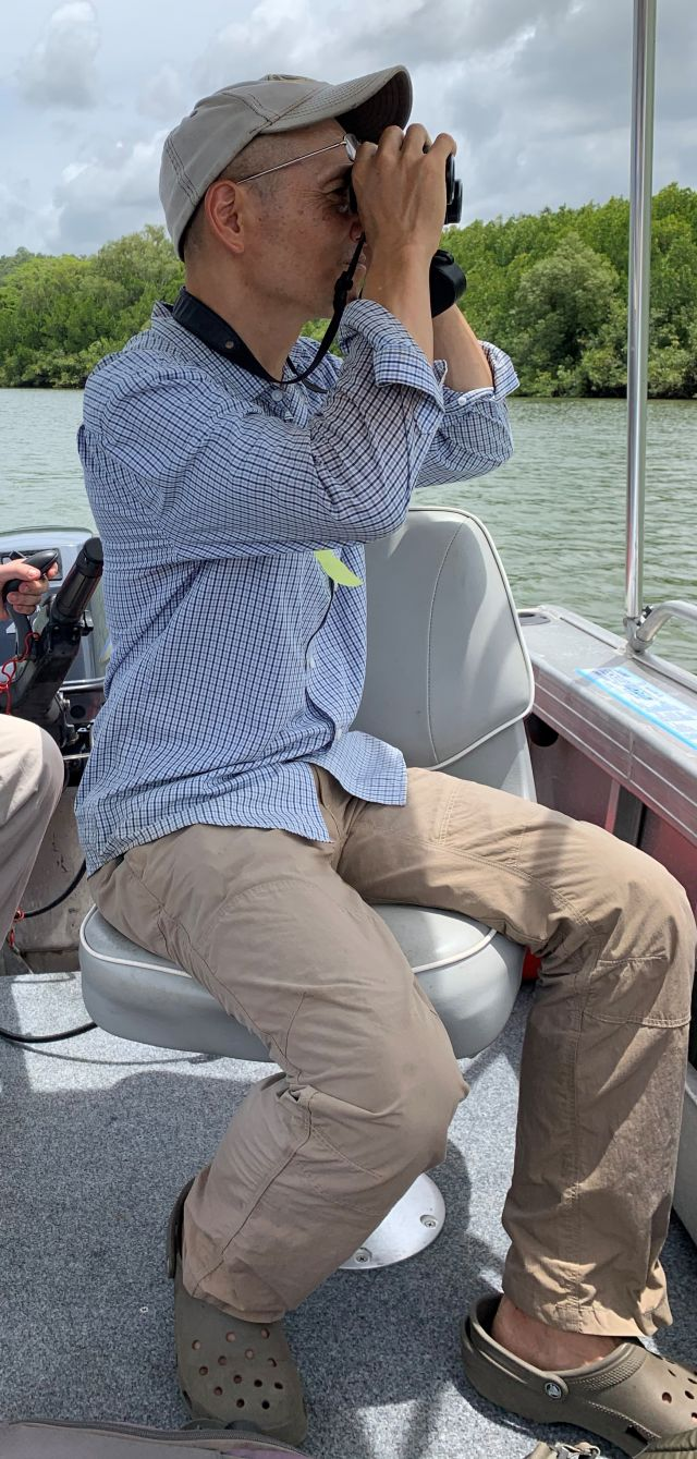 Image of Hidetoshi Kudo who is involved in MangroveWatch.